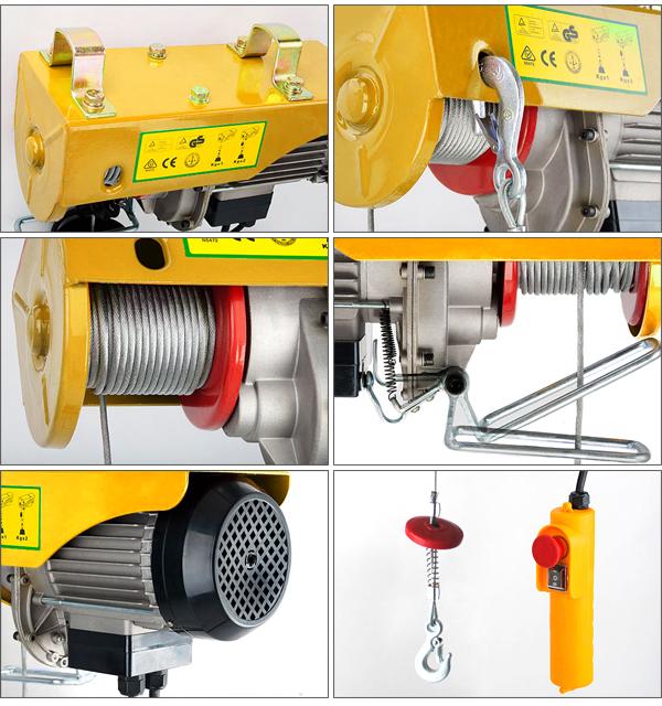 凌鹰微型电动葫芦具有其独特的优势,电机工作时间更长.