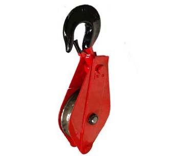 吊钩式单轮滑车