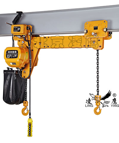 HHBB同步双钩环链电动葫芦固定式涂装用