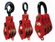 吊钩(链环型)三轮滑车